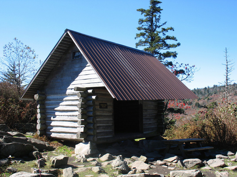 Appalachian Trail - Thomas Knob Shelter - 5,400'