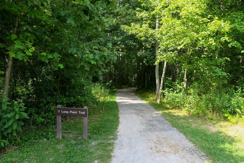 Long Point & Timber Ridge Trailhead - 1,940'