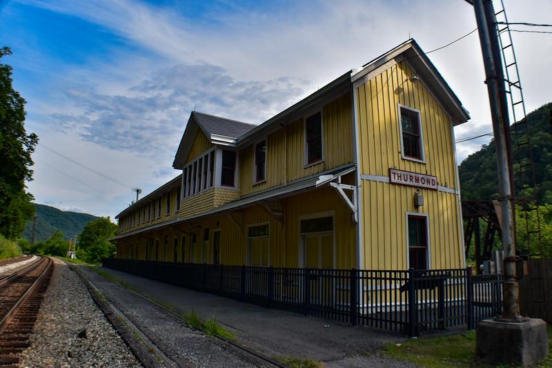 Thurmond - Passenger Depot (ca. 1904)