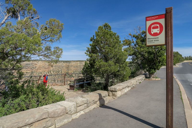Monument Creek Vista Trailhead -- 6,813'