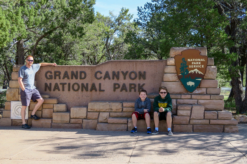 Grand Canyon National Park -- South Entrance