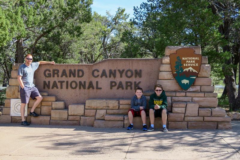 Grand Canyon National Park -- South Entrance