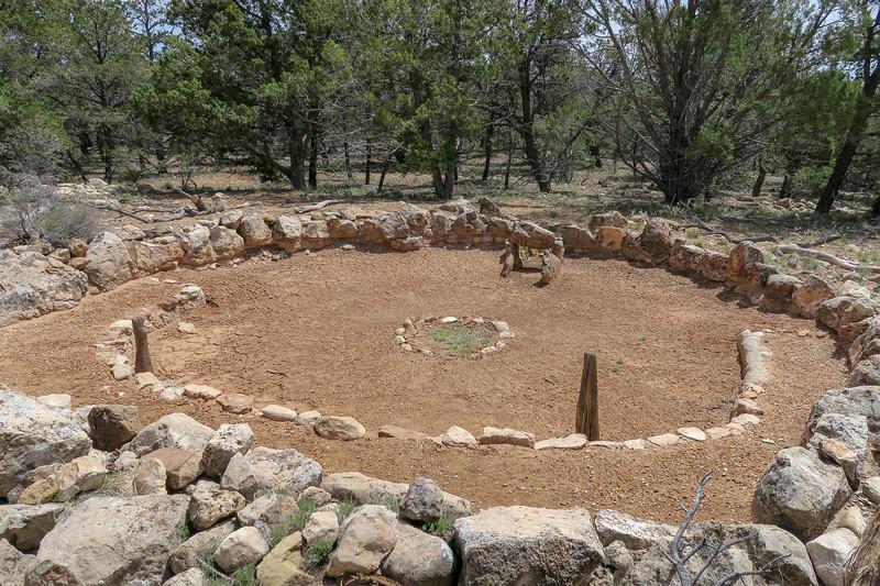 Tusayan Ruins -- Large Kiva