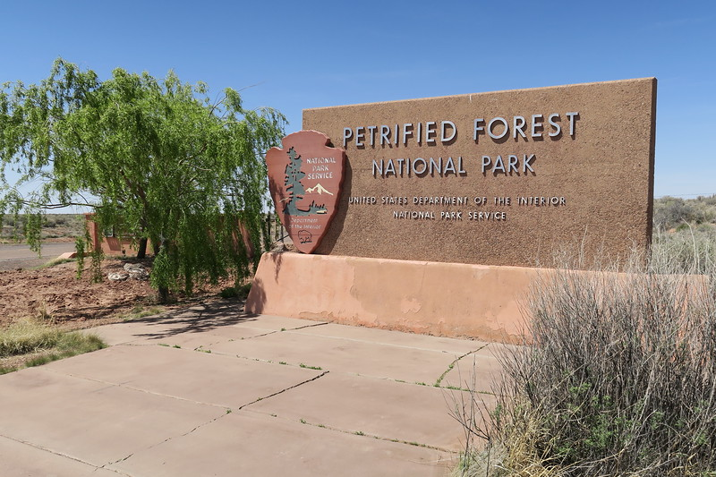 Petrified Forest National Park -- North Entrance