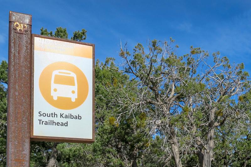 South Kaibab Trailhead -- 7,180'