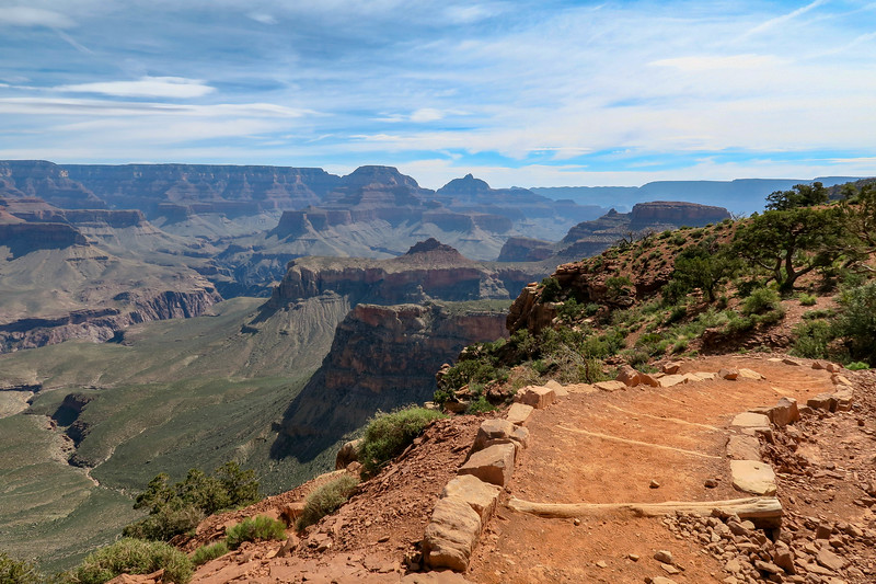 South Kaibab Trail -- 6,080'