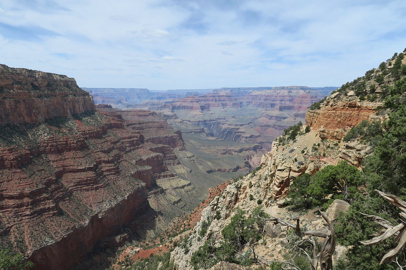 South Kaibab Trail -- 6,900'