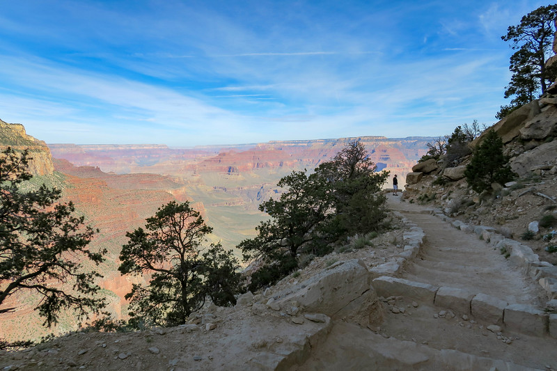 South Kaibab Trail -- 6,650'