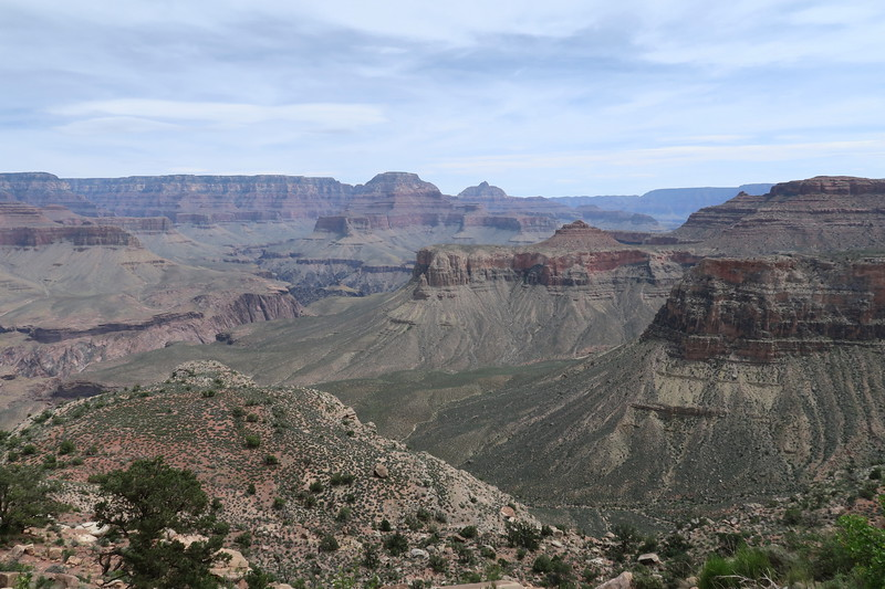 South Kaibab Trail -- 5,450'
