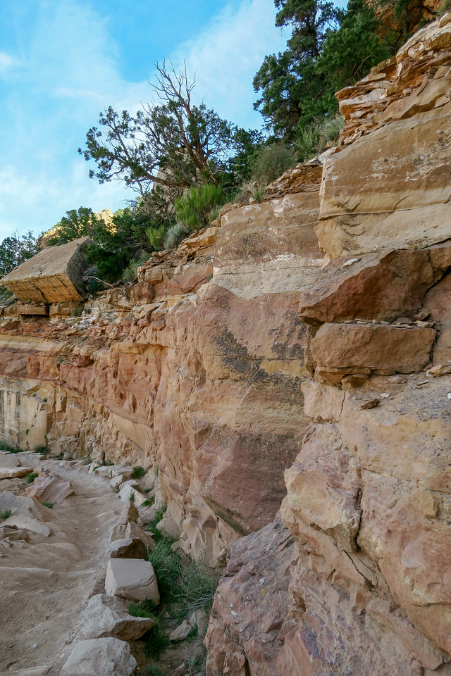 South Kaibab Trail -- 6,680'