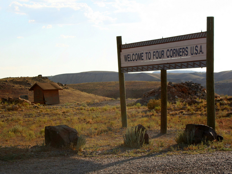 Four Corners Monument - Entrance