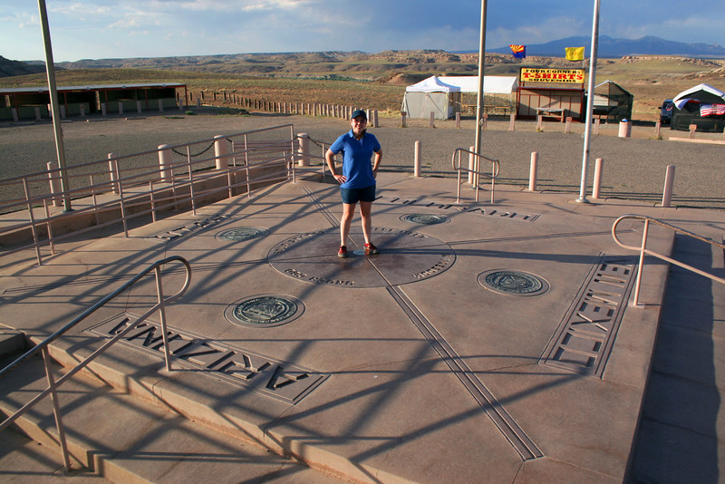 Standing in four states at once...