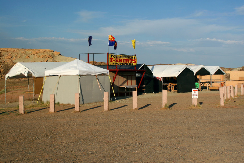 "Small shacks housed native americans selling native ""gifts.""  Due to the late hour many were already closed up..."