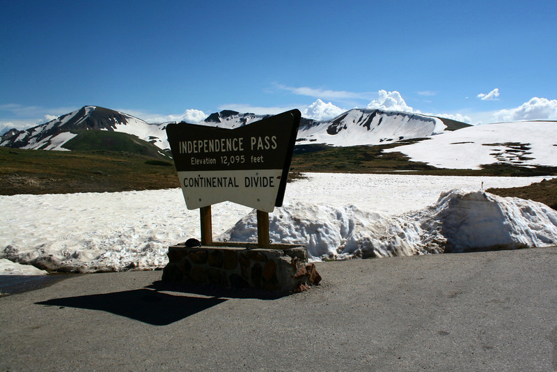 Independence Pass --- 12,095'