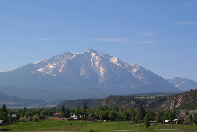 Colorado Highway 82 View