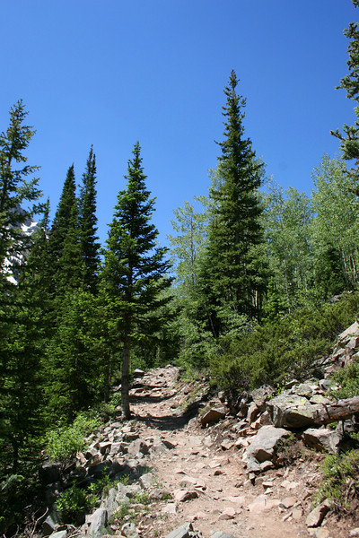 Crater Lake Trail - 9,950'
