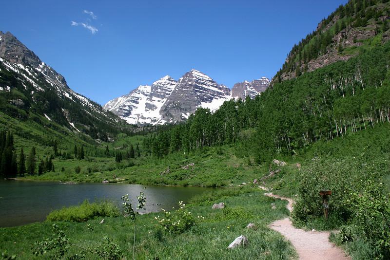 Maroon Lake - 9,580'