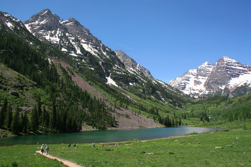 Maroon Lake Trailhead - 9,600'