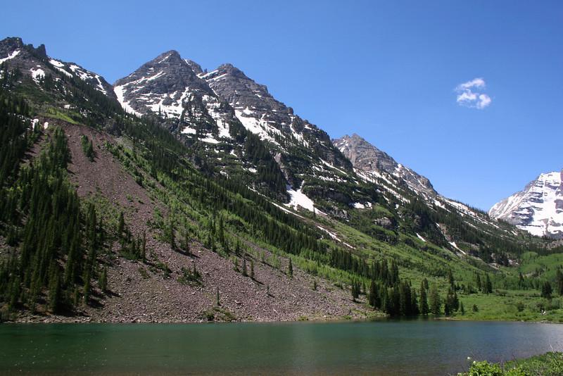 Pyramid Peak - 14,018'