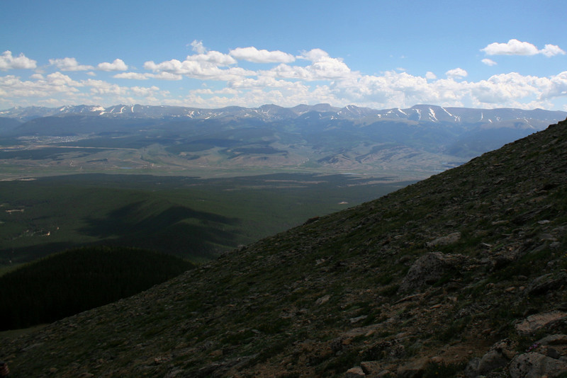 North Mount Elbert Trail -- 12,300'