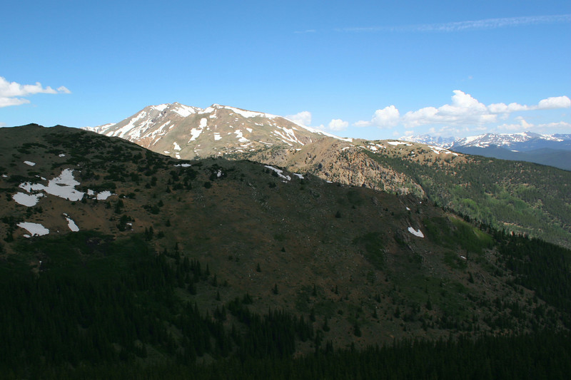 North Mount Elbert Trail -- 12,200' - Mt. Massive