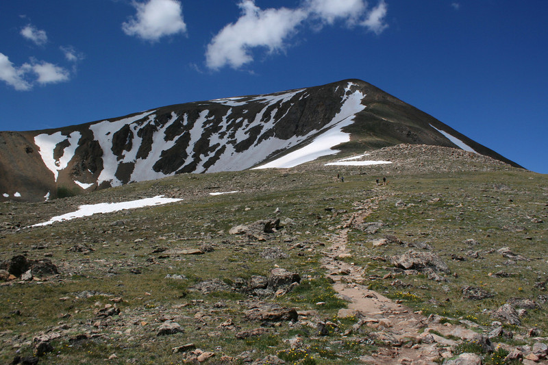 North Mount Elbert Trail -- 12,700'