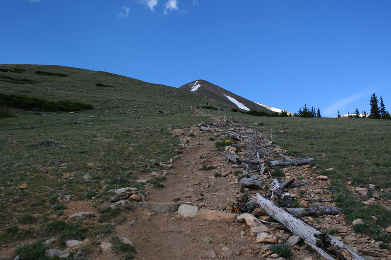 North Mount Elbert Trail -- 12,000'