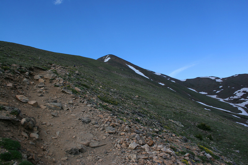 North Mount Elbert Trail -- 12,200'