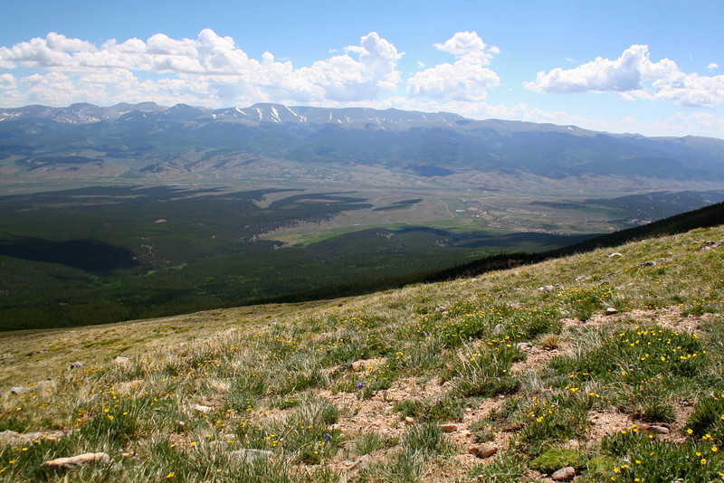 North Mount Elbert Trail -- 12,350'