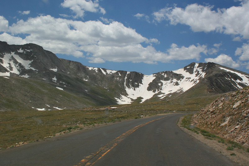 Mount Evans Road -- 12,900'