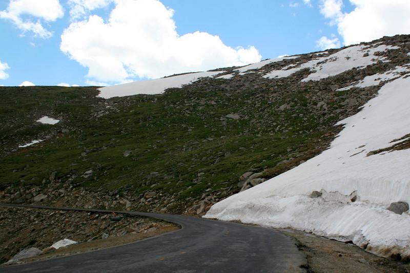 Mount Evans Road -- 12,400'