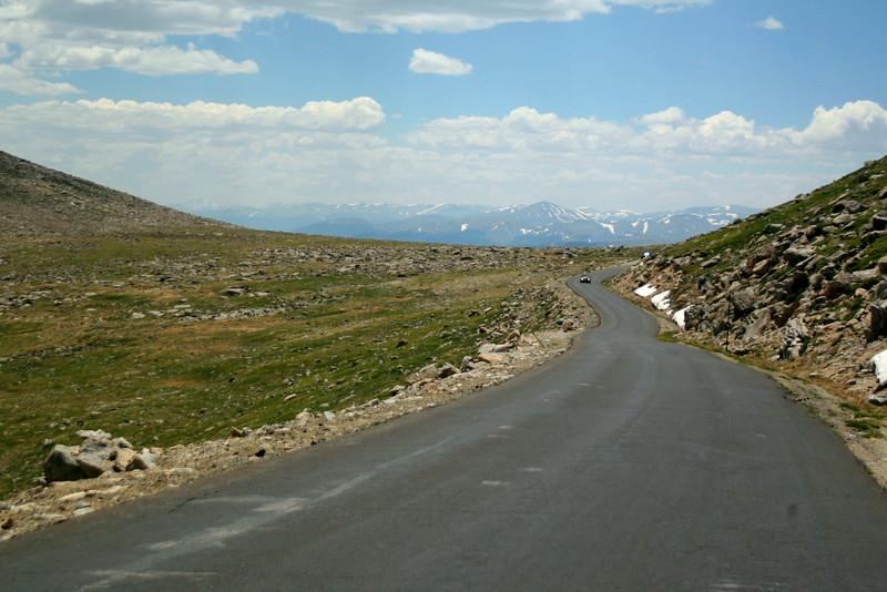 Mount Evans Road -- 13,300'
