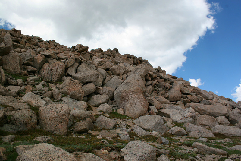 Mount Evans Summit Path -- 14,150'