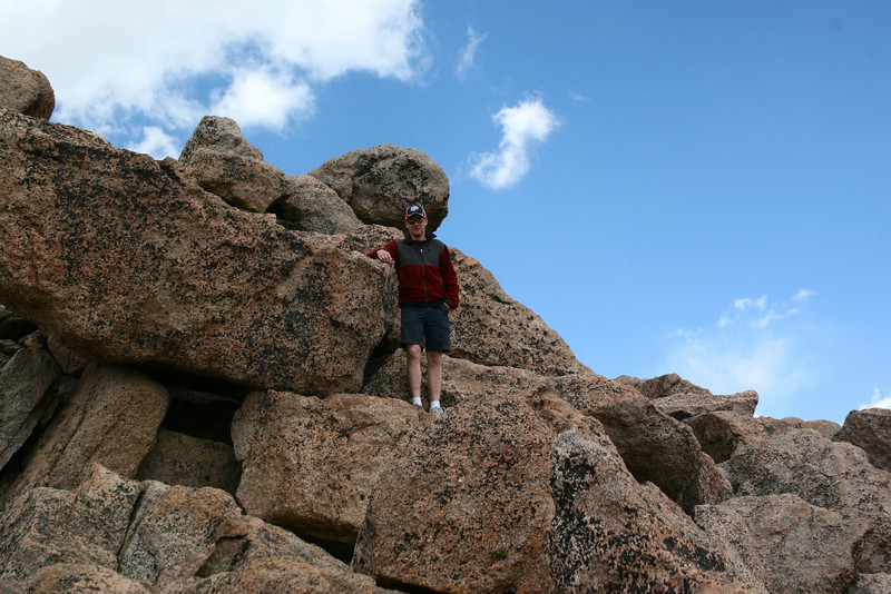 Mount Evans Summit Path -- 14,250'