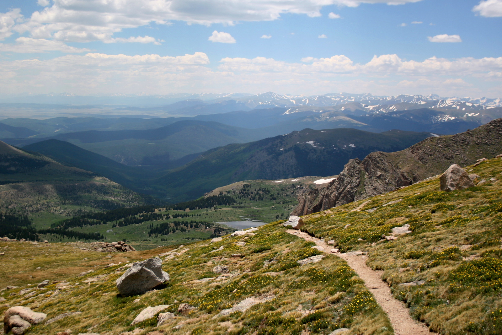 <i>13,300'</i> -  C'mon, you know you want to hike...