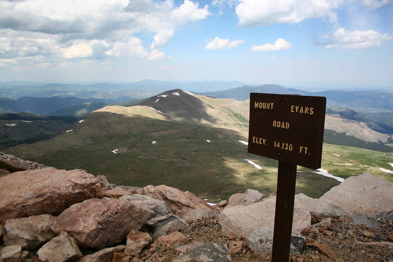 Mount Evans Summit Area -- 14,130'