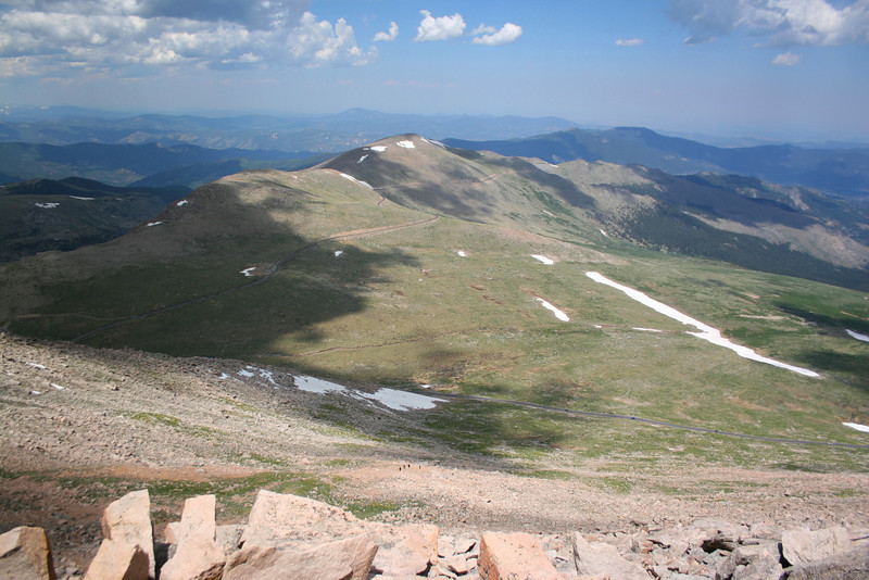 Mount Evans Summit Area -- 14,150'