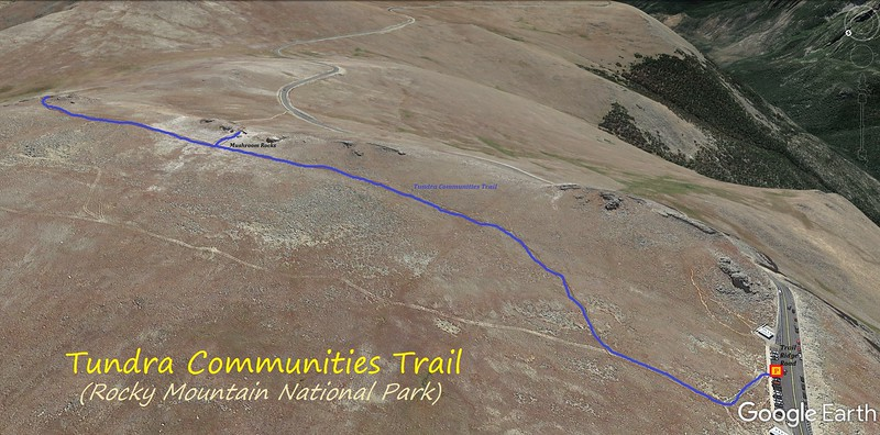 Tundra Communities Trail Route Map