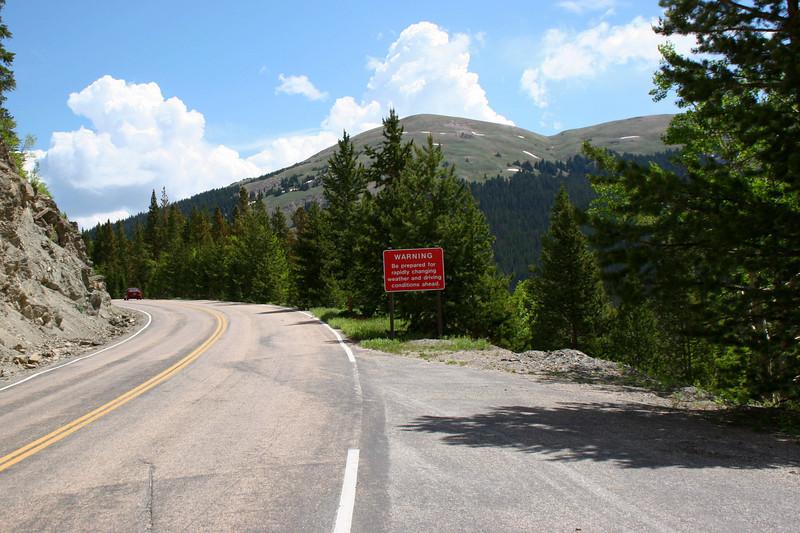 Trail Ridge Road - 10,400'