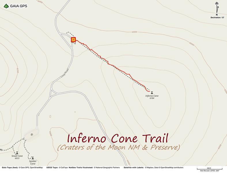 Inferno Cone Trail