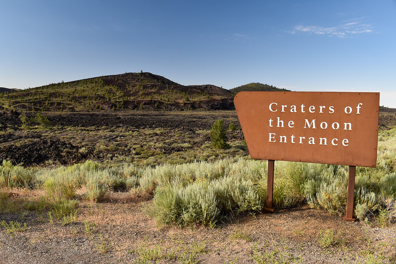Craters of the Moon National Monument & Preserve -- 5,920'