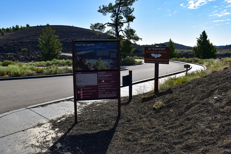 Tree Molds Trailhead (Broken Top Loop Trail) -- 5,870'