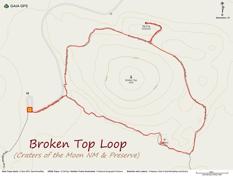 Broken Top Loop Trail