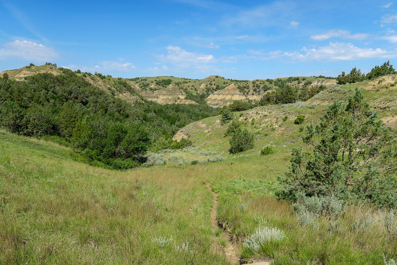 Caprock Coulee Trail -- 2,350'