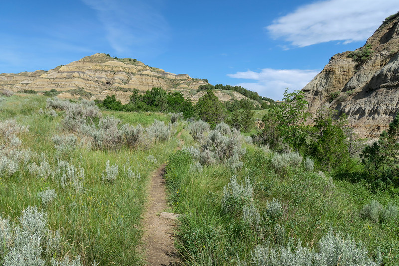 Caprock Coulee Trail -- 2,040'