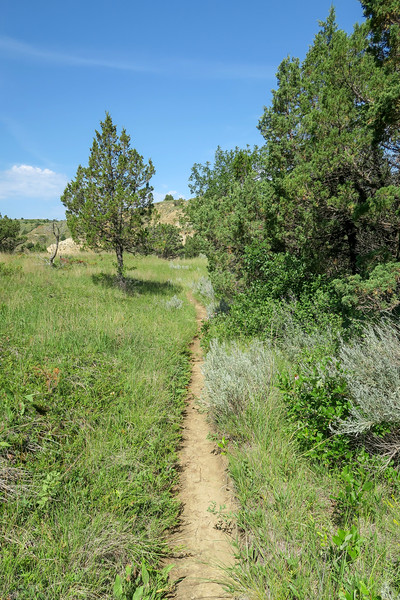 Caprock Coulee Trail -- 2,360'
