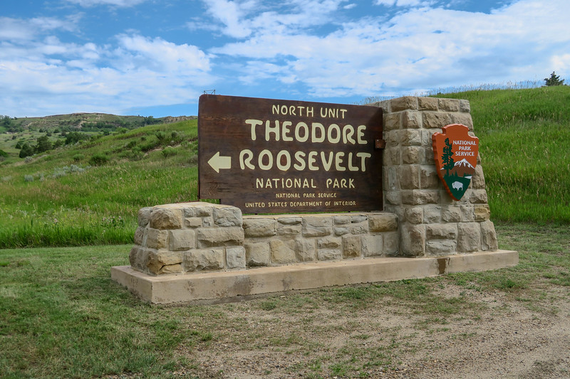 Theodore Roosevelt National Park - North Unit Entrance -- 2,050'