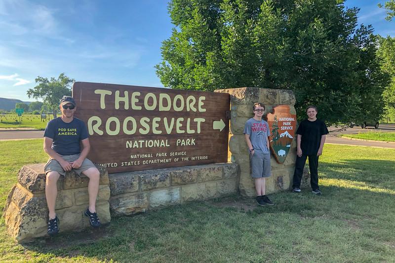 Theodore Roosevelt National Park - Medora Entrance -- 2,350'