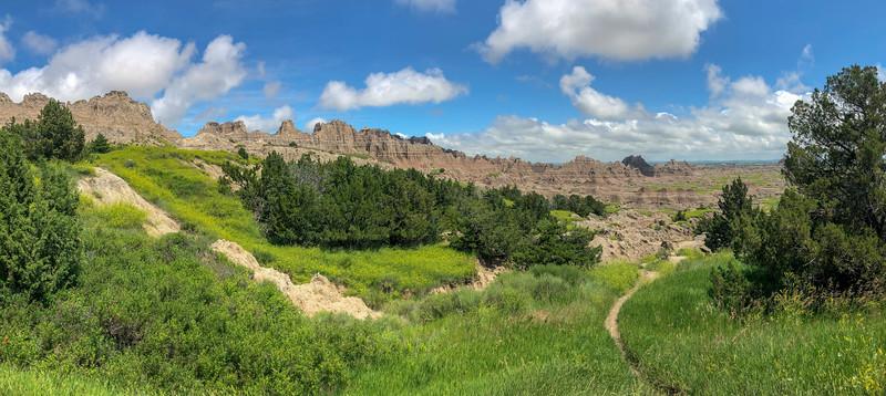 Cliff Shelf Nature Trail -- 2,620'