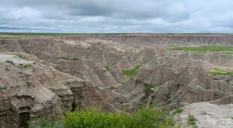Big Badlands Overlook -- 2,600'